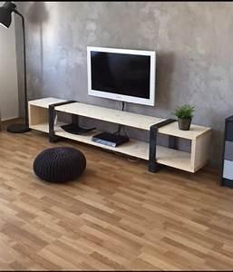 Meuble A Faire Soi Meme Recup : fabriquer un meuble tv instructions et mod les diy ~ Zukunftsfamilie.com Idées de Décoration
