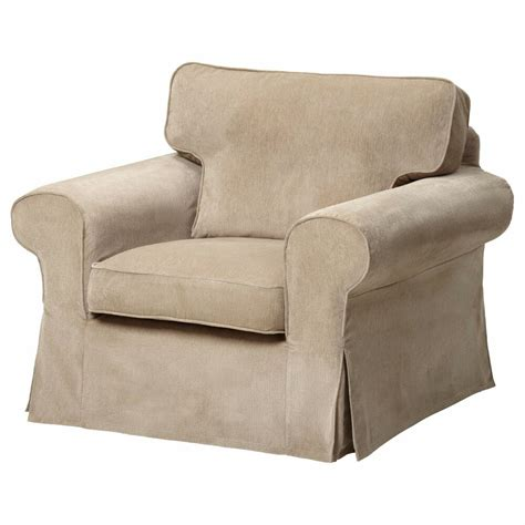 Cover Armchair by Ikea Ektorp Cover Chair Vellinge Beige Armchair Slipcover