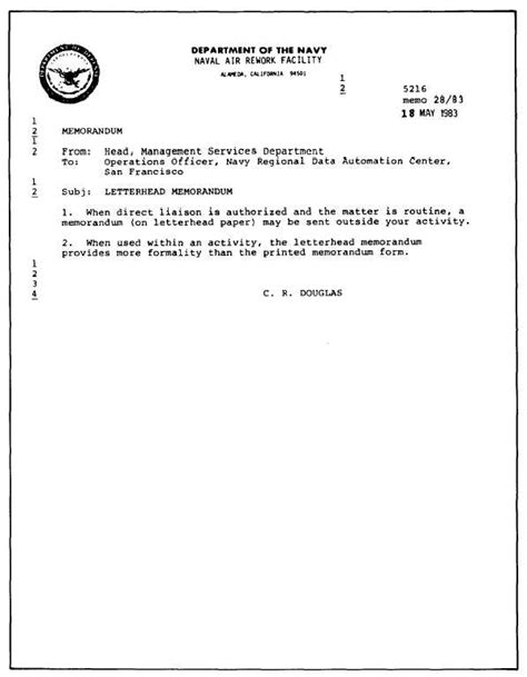 figure   plain paper memorandum