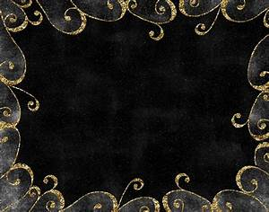Black And Gold Background 17 Background