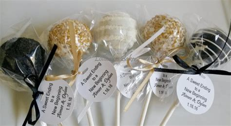 birthday cake pops gold  black premium cake pops