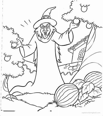 Rapunzel Coloring Pages Story Card Template Tale