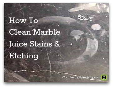 true diy solutions  cleaning marble juice