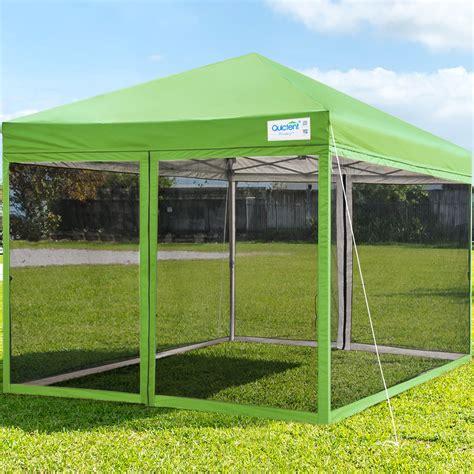 quictent  ez pop  canopy screen house  netting instant outdoor canopy tent mesh