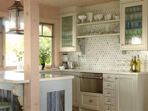 kitchen cabinets with glass on top glass kitchen cabinet doors pictures ideas from hgtv hgtv