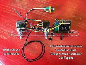 Prewired Telecaster Wiring Harness  Pull Coil