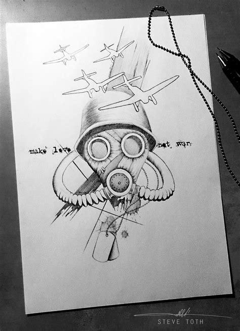 love  war tattoo design steve toth pinterest