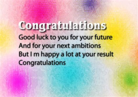 congratulations  passing exam messages wishesmsg