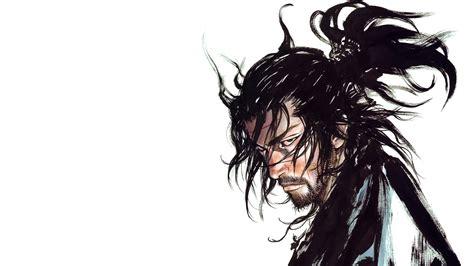 Anime Sketch Wallpaper - wallpaper drawing illustration hair vagabond