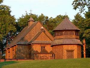 Oldest Wooden church of Lithuania located in Paluse ...