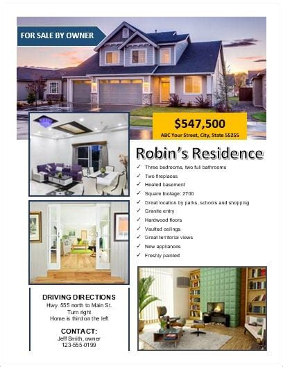 for sale by owner template fsbo for sale by owner flyer office templates