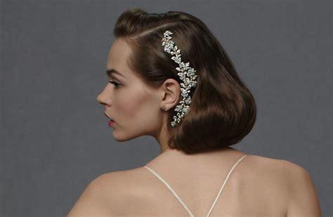 Bridal Hairdos For Short Hair
