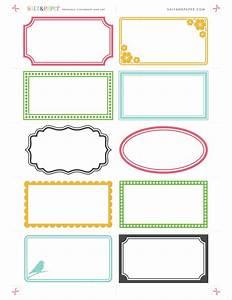 Printable Labels From Saltandpaper Com