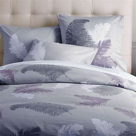selling home interior products tossed feather duvet cover elm