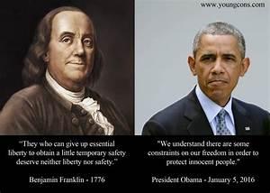 Ben Franklin Ar... Liberty Vs Freedom Quotes