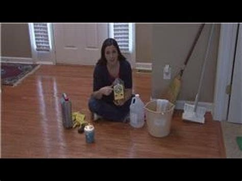 housekeeping tips removing wax  wood floors youtube