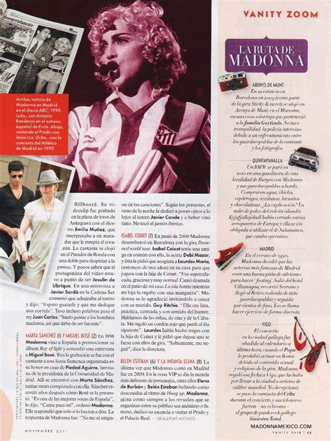 vanity fair articles madonnalicious magazines vanity fair