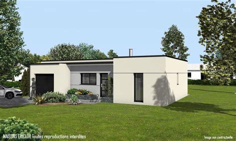 maison moderne sans toit maison plain pied sans toit