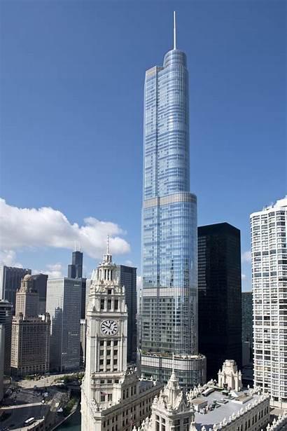 Trump Tower Chicago International Building Buildings Donald