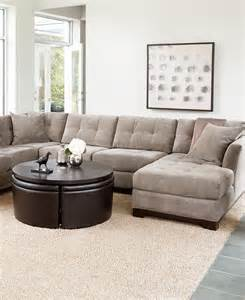 Macys Elliot Sofa by Elliot Fabric Sectional Living Room Furniture Collection