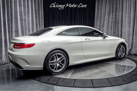 The luxury of being driven. Used 2017 Mercedes-Benz S550 4 Matic Coupe Sport Package! For Sale (Special Pricing) | Chicago ...