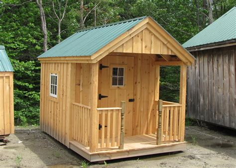 Garden Shed Plans 8x12 by Small Cabins Kits Small Cabin Plan Small Cottages Plans