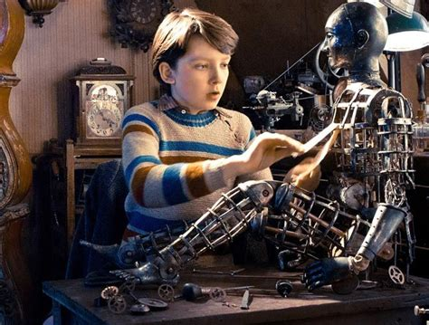 mechanicalautomaton hugo illustrating