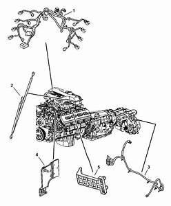 2007 Dodge Ram 2500 Wiring - Engine