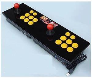 PS2 PC USB Double Arcade Joystick Capcom Street Fighter | eBay