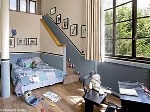 peinture beige chambre peinture chambre couleur naturelle With chambre bleu et beige