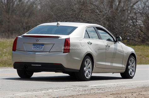 2015 Cadillac Ats Spied Up Close
