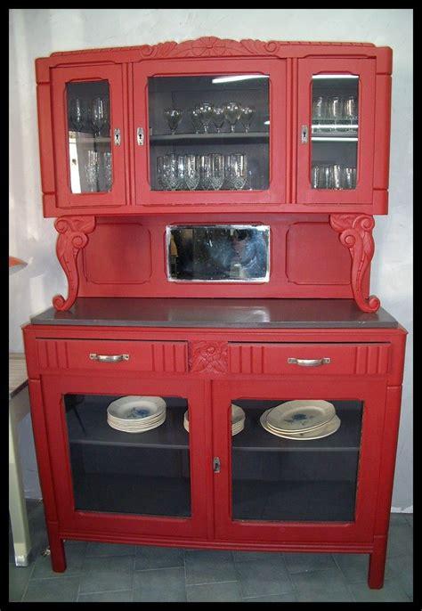 buffet cuisine pin ponçage peinture vive et installation de vitres à la