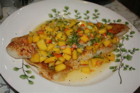 grouper baked fillet mango salsa recipes fish thejanechannel recipe sauce grilled fresh roasted