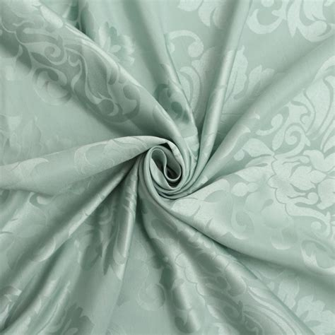 classic floral faux silk jacquard curtain upholstery