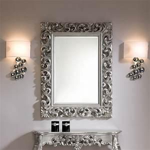 Miroir Mural Rectangulaire Argente Dino Zd1mir D 030jpg