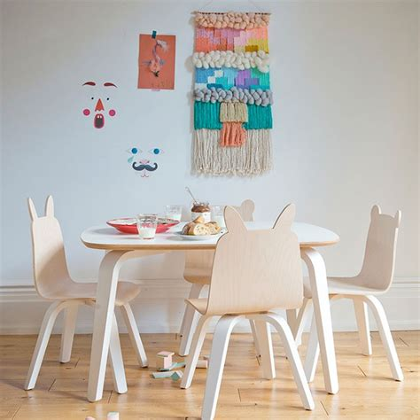 modern toddler play table and chairs oeuf canada