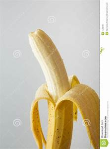 Half Peeled Banana Royalty Free Stock Photography - Image ...