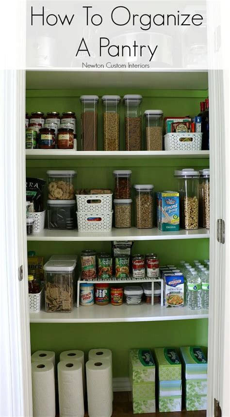 best way to organize kitchen pantry best 25 kitchen pantry storage ideas on 9241