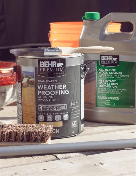 Behr All In One Deck Cleaner