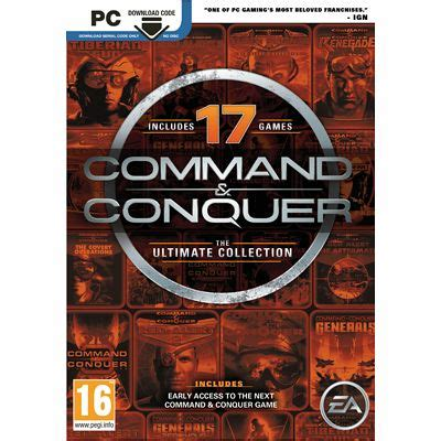 command  conquer  ultimate collection
