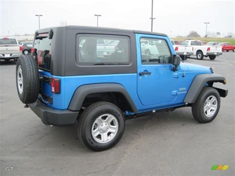 jeep surf 2010 surf blue pearl jeep wrangler sport 4x4 27169364