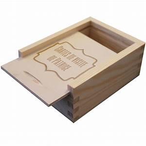 Boite En Bois : bo te cartes de visite en bois grav e une id e de cadeau original amikado ~ Teatrodelosmanantiales.com Idées de Décoration