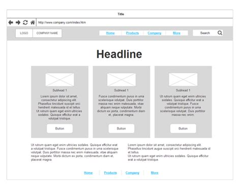 Tools To Create Website Templates by Wireframe Tool Get Free Wireframe Templates And Symbols