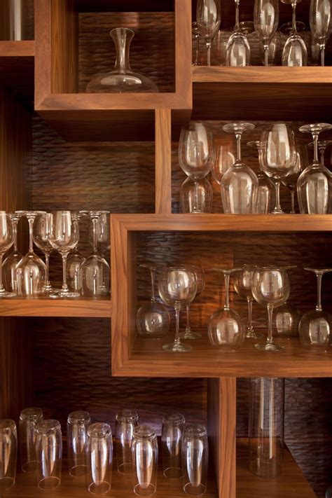 Wine Glass Storage Kitchen Traditional With North Shore