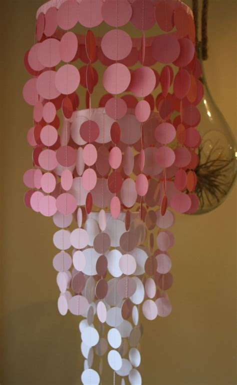 paper chandelier ideas  pinterest paper