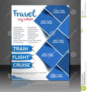 design flyer travel center flyer design stock vector image 40489366
