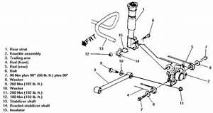 2000 Grand Prix Rear Suspension Diagram