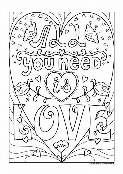 Colouring Need Pages Coloring Adult Adults Quotes