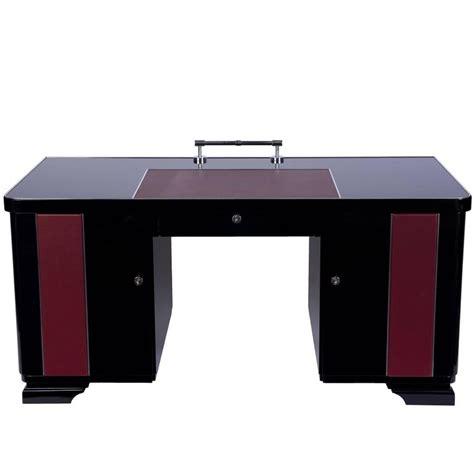 art desks for sale art deco desk with leather applications for sale at 1stdibs
