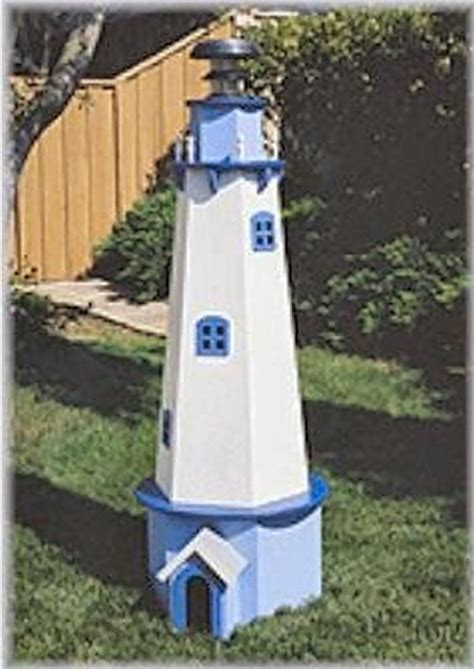 Pins about diy lighthouses & nautical pass on picked by pinner carol diy solar lighthouse plans. Lighthouse Plan | Lighthouse woodworking plans, House lighting outdoor, Wood lighthouse